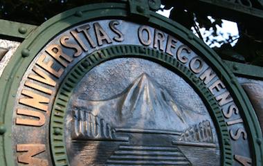 University Seal on Dad's Gate